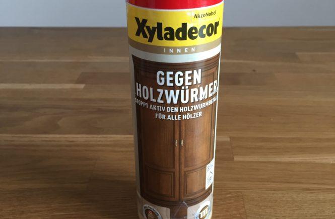 Xyladecor gegen Holzwürmer